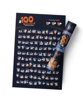 "Скретч-постер ""#100 Дел камасутра edition"""