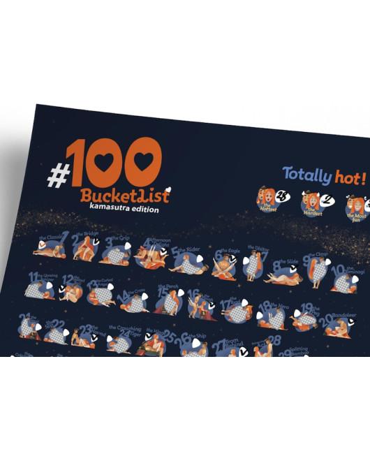 Скретч-постер 100 Дел Камасутра Харьков