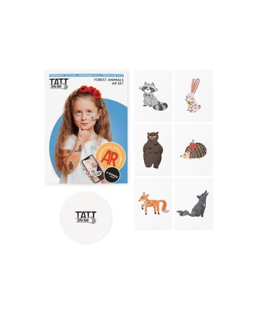 Тату для детей Forest animals set Харьков