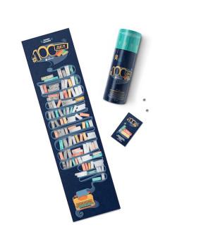 Скретч-постер 100 лучших книг