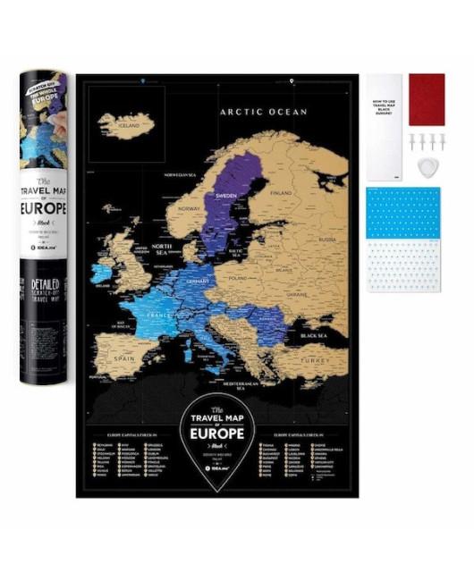 Скретч карта Европы купить