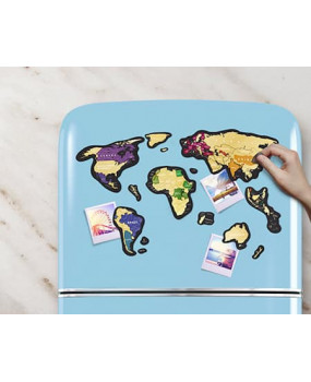 Магнитная Скретч Карта Мира