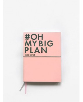 Планер OH MY BIG PLAN Blush Edition