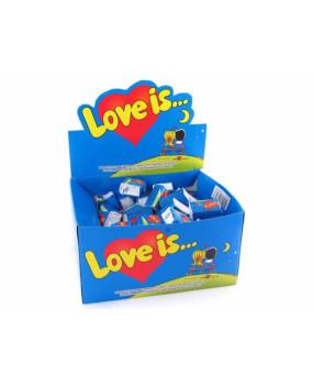 Блок жевательной резинки Love is