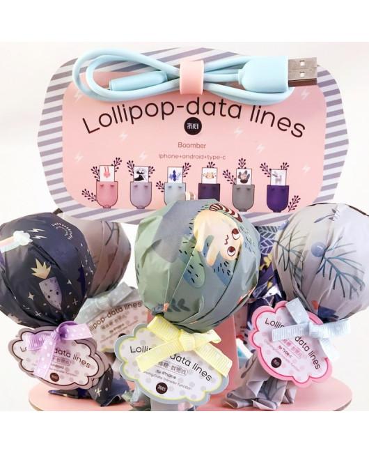 Шнур для телефона Lollipop
