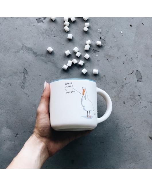 Чашка с гусем Успех Харьков