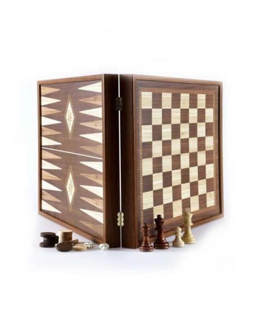 Шахматы шашки нарды Manopoulos STP36E