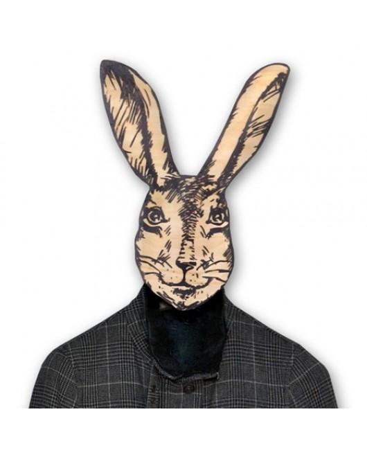 Вешалка маска Крольчиха