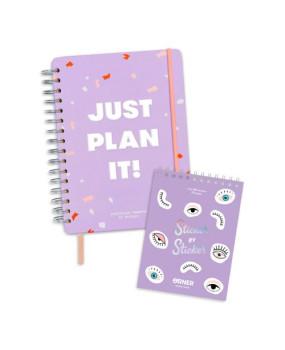 Планер Just plan it + Sticker book