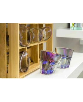 Набор пьяных стаканов Радужный