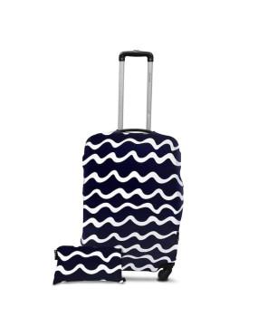 Чехол для чемодана - волны