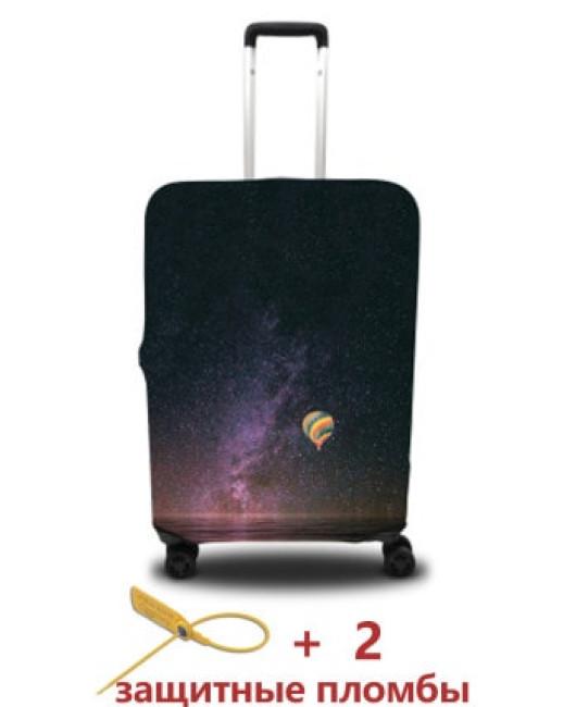 Чехол для чемодана с рисунком купить