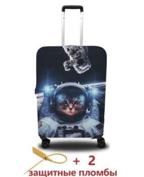 Чехол для чемодана - кот