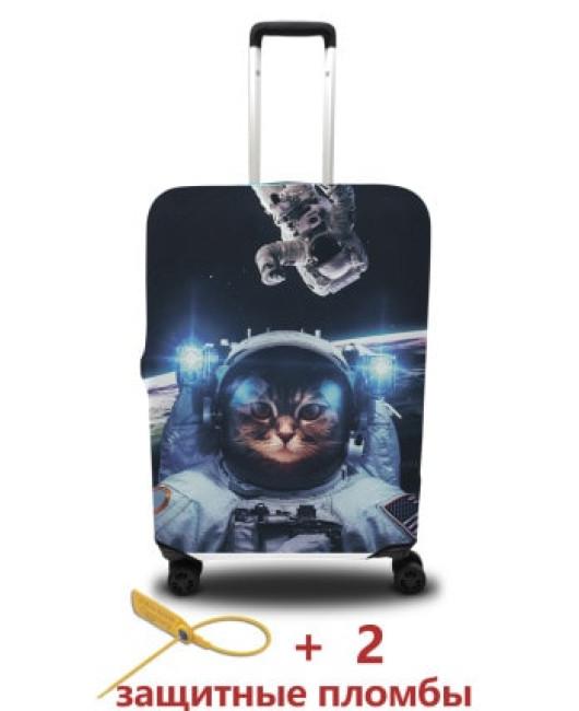 Чехол для чемодана с котом