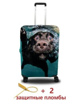 Чехол для чемодана - собака