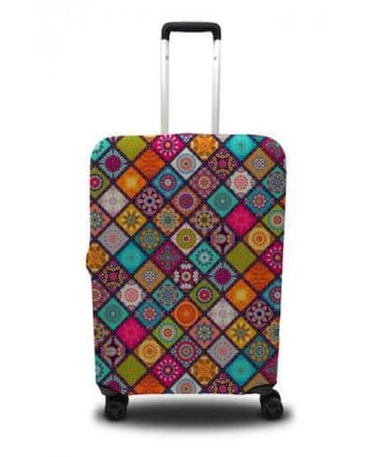 Чехол для чемодана яркий