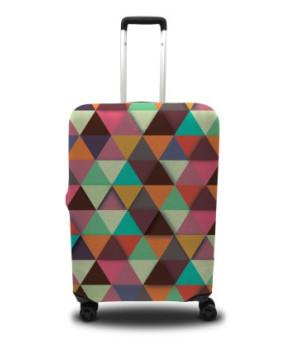 Чехол для чемодана - треугольники