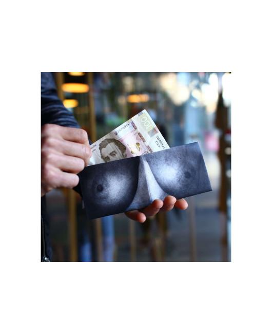 Кошелек с грудью купить Украина