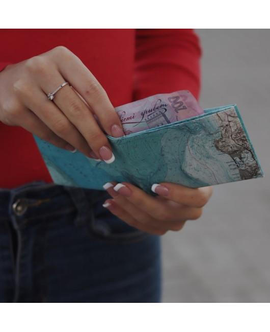 Кошелек Paper Ninja карта купить