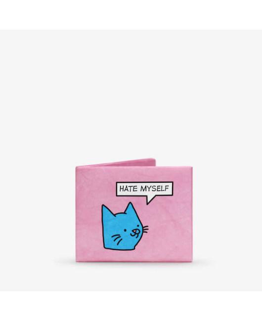 Маленький кошелек с котом