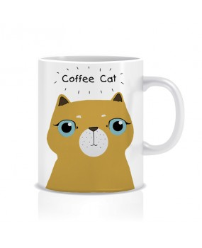 Чашка Coffee Cat