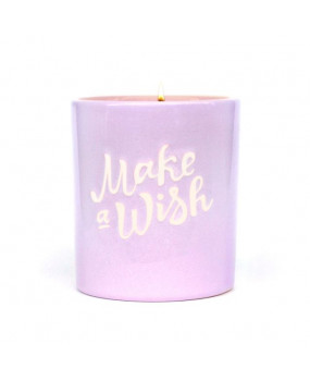 Свеча Make a wish Purple