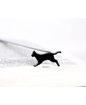 Закладка для книг Бегущая кошка