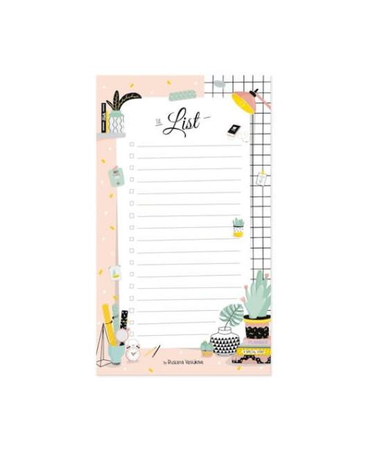 Блокнот для списков красивый