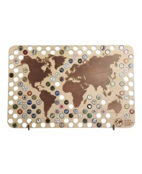 Пивная карта Мира - CAPSBOARD WORLD