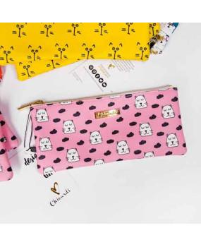 Косметичка/пенал Cats - pink