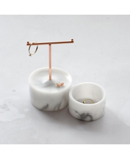 Подставка для украшений Stackers Small Marble