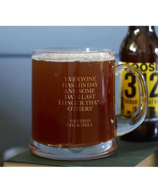 Бокал для пива дорогой
