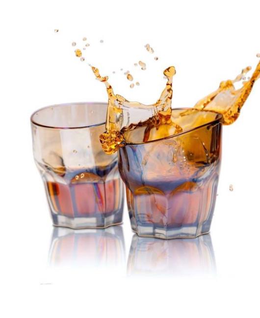 Пьяный стакан для виски Радужный купить