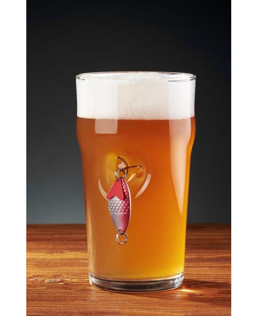 Бокал для пива подарок рыбаку