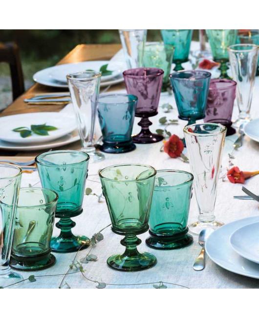 Разноцветные бокалы для вина La Rochere пчелка