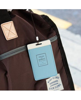 Бирка для багажа 'Flying Name Tag' - Sky Blue