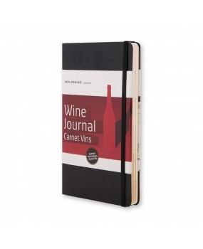 Блокнот Moleskine Passion Wine  Journal средний черный