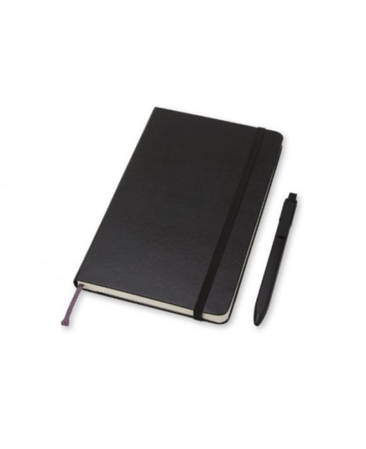 Подарочный набор Moleskine (блокнот средний + ручка)