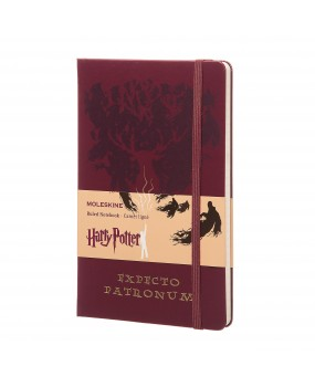 Блокнот Moleskine HARRY POTTER  средний Экспекто Патронум