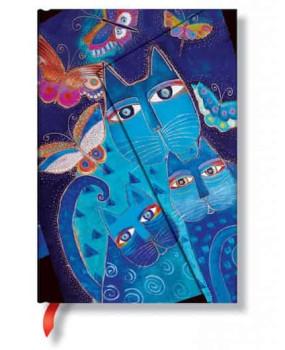 Блокнот Paperblanks коты и бабочки