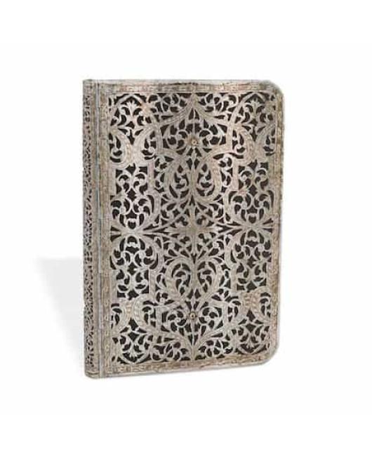 Блокнот Paperblanks Серебряная филигрань мини купить