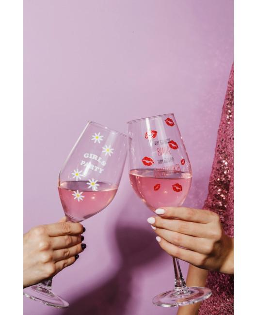 Бокал для вина Поцелуи в подарочной упаковке