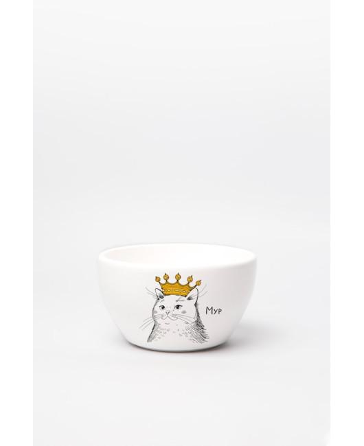 Кошка в короне тарелка Харьков