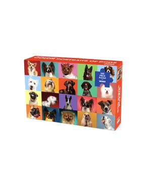 Пазл «Разноцветные портреты собак» 500 элементов