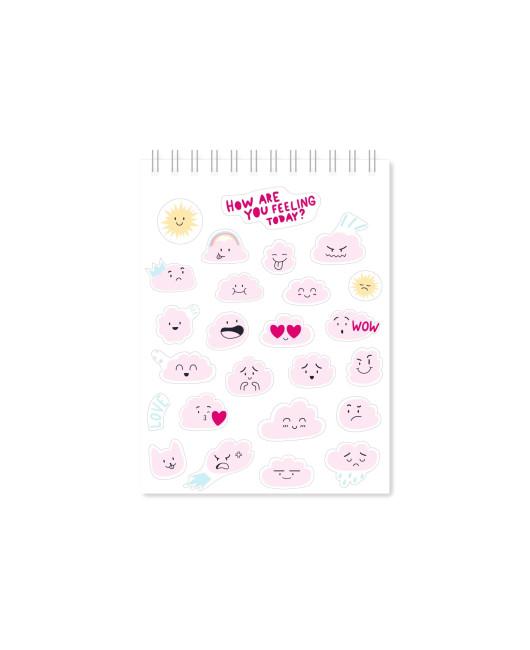 Стикербук Sticker book розовый Харьков