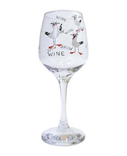 Подарок подружке бокал для вина