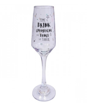 Бокал для шампанского Time to drink
