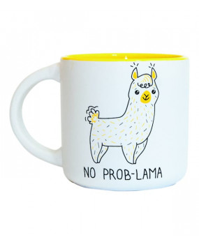 Чашка Лама No Prob-Lama