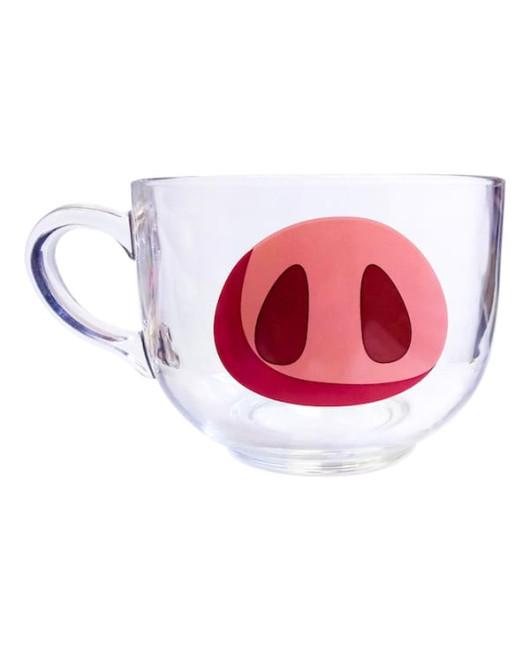 Большая чашка с пятаком