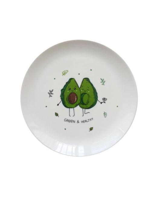 Тарелка с авокадо Харьков